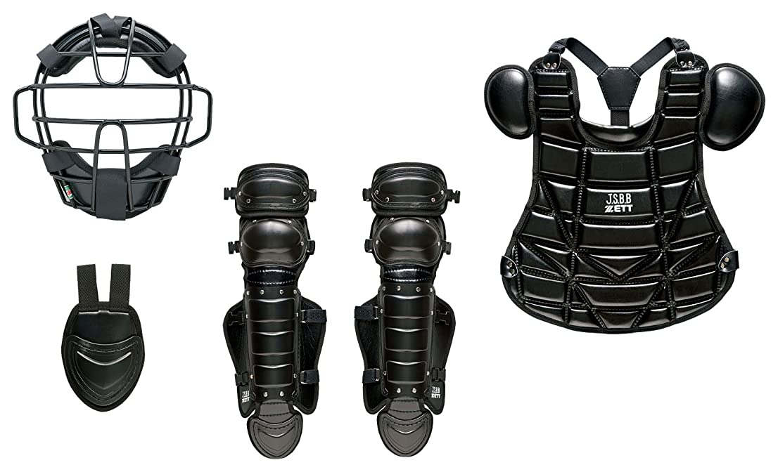 限り物語弾性ZETT(ゼット) 少年野球 軟式用 防具 4点セット BL727