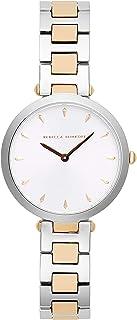 Rebecca Minkoff Women's Quartz Watch with Stainless Steel Strap, Silver, 13 (Model: 2200279)