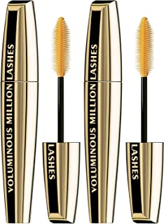 L'Oreal Paris Makeup Voluminous Million Lashes Mascara, Volumizing, Defining, Smudge-Proof, Clump-Free Lengthening, Collag...