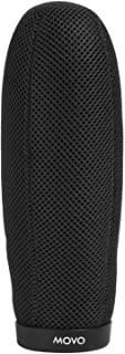 Movo WST220 Professional Premium Quality Ballistic Nylon Windscreen with Acoustic Foam Technology for Shotgun Microphones up to 20cm Long (Fits Røde NTG-3)