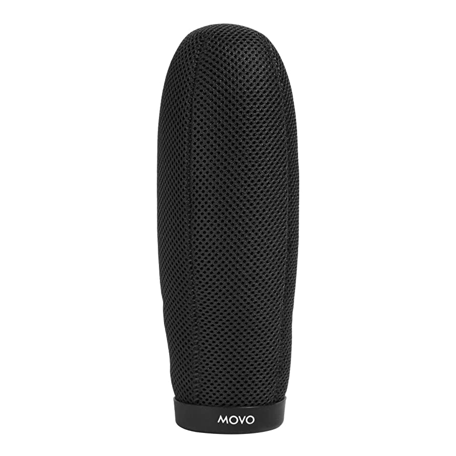 Movo WST220 Professional Premium Quality Ballistic Nylon Windscreen with Acoustic Foam Technology for Shotgun Microphones up to 20cm Long (Fits R?de NTG-3)