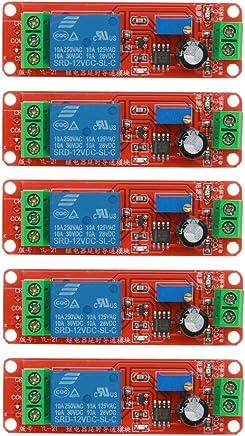 WinnerEco 5pcs DC 12V Delay Relay Shield NE555 Timer Switch Adjustable Module
