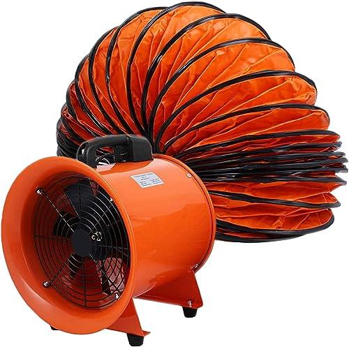OrangeA Utility Blower 12in Fan, Orange