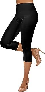Gilbin Ultra Soft Capri High Waist Leggings for Women-Many Colors -One Size & Plus Size