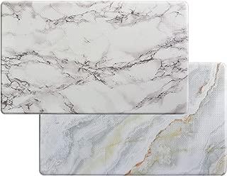 Art3d Premiun Reversible Anti-Fatigue Kitchen Mat, Anti-Slip Floor Comfort Mat for Kitchen, Bathroom, Laundry Room or Office (18x30, Marble Design)