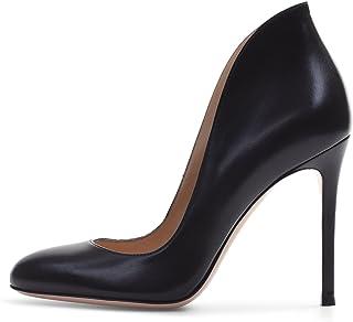 elashe - Femmes - Stiletto 10CM - Noir - Personnaliser - Cuir synthétique - Talon Aiguille - Bout Pointu fermé