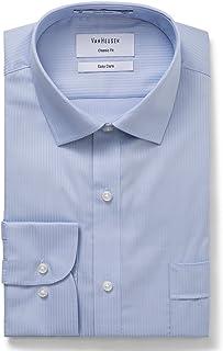 Van Heusen Men's Classic-Relaxed Fit Dobby Stripe Business Shirt