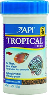 API Fish Food PELLETS, Formulated to Help Fish More readily use nutrients which Means..