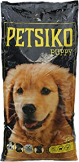Petsiko Dry Food For Puppy With Lamb Rice And Chicken, 10 kg