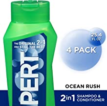 PERT 2 IN 1, Shampoo and Conditioner, Ocean Rush, 25.4 oz, (4 Pack)