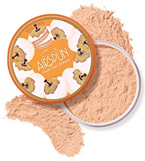 Coty Airspun Loose Face Powder 2.3 oz. Suntan Tone Loose Face Powder, for Setting Makeup or as Foundation, Lightweight, Lo...