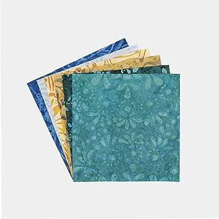 Connecting Threads Batik Collection Precut Quilting Fabric Bundle 5