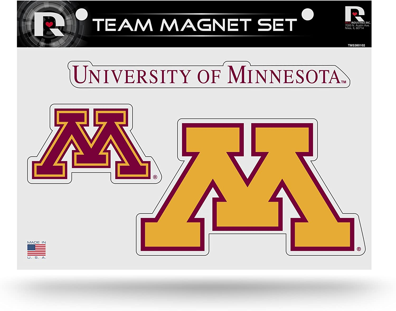 Rico Industries NCAA Al sold out. Unisex Die Cut Team Max 86% OFF Set Sheet Magnet