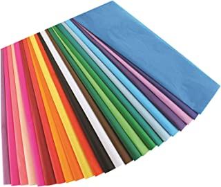 Hygloss Products Bleeding Tissue Assortment- Multi-Color Assortment 12 x 18 Inch, 50 Sheets