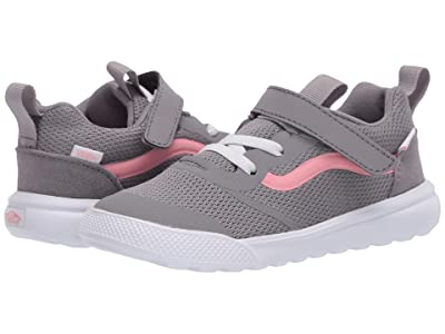 Vans Kids UltraRange Rapidweld (Infant/Toddler) ((Pop) Frost Gray/Pink Icing) Girl