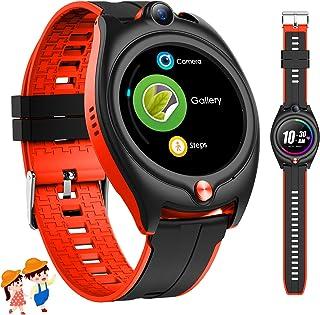 4G Smartwatch Niños con GPS, Reloj Inteligente Niños con 4G 1.28'' GPS WiFi Video Llamadas Mensajes,Modo Colegio, SOS, Cám...