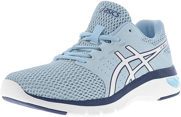 tofu Grillo licencia  Amazon.com: ASICS Gel-Moya Zapatillas de running ligeras para mujer, Azul,  6.5: Shoes