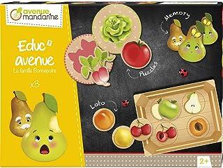 """Avenue Mandarine 'Educ'Avenue' """"The Bonnepoire Family"""" Educational Game Collection (Ages 2+)"""