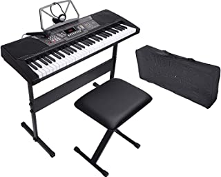 LAGRIMA 61 Key Portable Electric Piano Keyboard - Music...