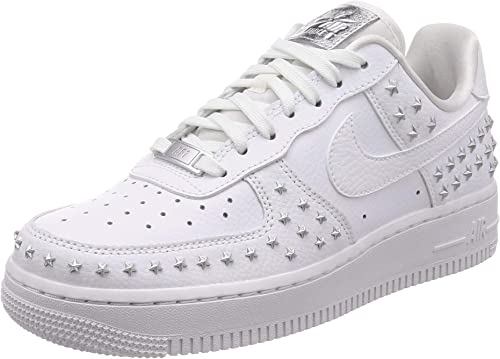 Nike Scarpe Sneaker da Donna Air Force 1 07 XX in Pelle Bianca AR0639-100