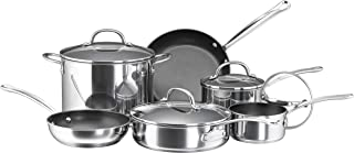 Best farberware millennium stainless steel nonstick 10-piece cookware set Reviews