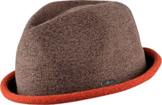 Fine Twisted Boston Trilby Hat in 4 Colours with Contrasting Brim Top Quality