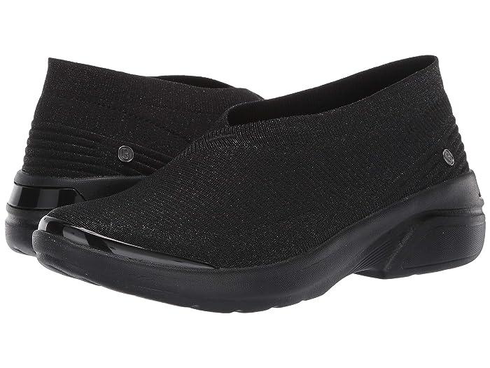 Bzees  Outburst (Black) Womens Flat Shoes