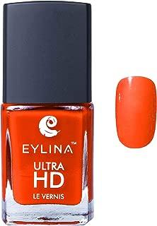 EYLINA Ultra Hd Nail Polish, Orange Pop, 9ml