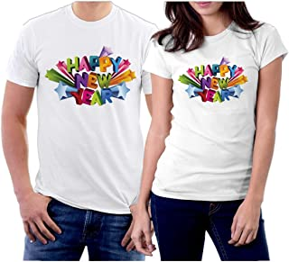 picontshirt Winter Christmas T-Shirts Collection Style 28 for Couple
