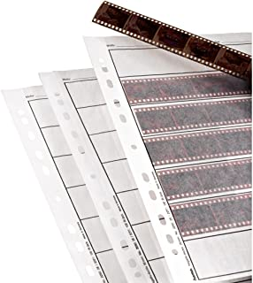 Hama Archival Negative Glassine Sheets Sleeves for 35mm Films - 100pcs