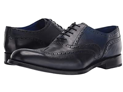 Grenson Dylan Wing Tip (Navy Dipped) Men