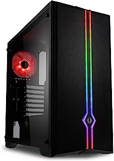 Caja SEMITORRE ATX Saber RGB Tempered Glass Black BITFENIX INT:2X3.5;4+2X2.5/ 2XUSB3.0/Audio