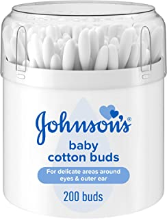 Johnson & Johnsons Baby Cotton Bud, 200 Count