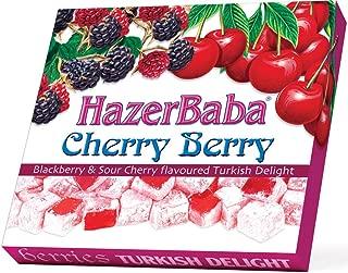 Hazer Baba Cherry Berry Turkish Delight, 250g
