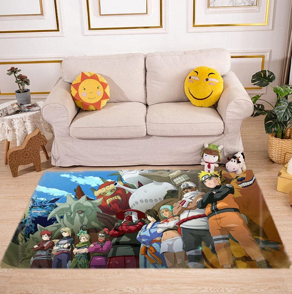 Large Area Ranking TOP17 Carpet Non-Slip and Naruto L Machine Washable Anime Max 63% OFF