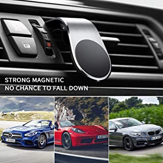 Magnetic Phone Car Mount Air Vent Phone Car Mount Universal Car Cellphone Holder Strong Magnetic Mount for Any Smartphone 2Pack…