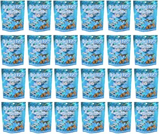 Fat-Cat Fish 100% Freeze-Dried Treats Wild Salmon. Dog Treats and Cat Treats. Made in USA. Pack of 1, 3, 6, 12, 18, 24.