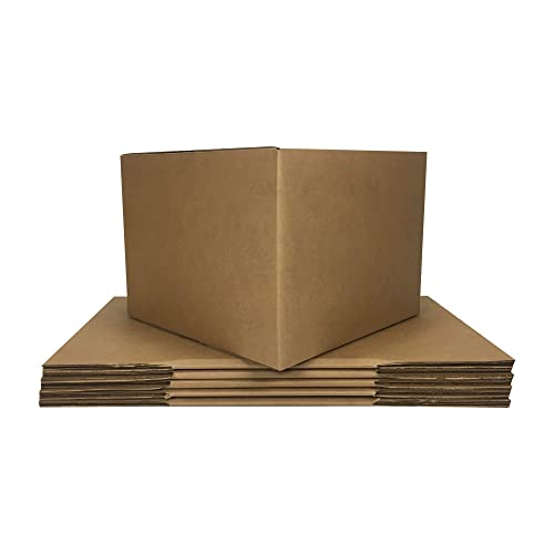 Large Moving Boxes (6 Pack) 20x20x15-inches Packing Cardboard Box