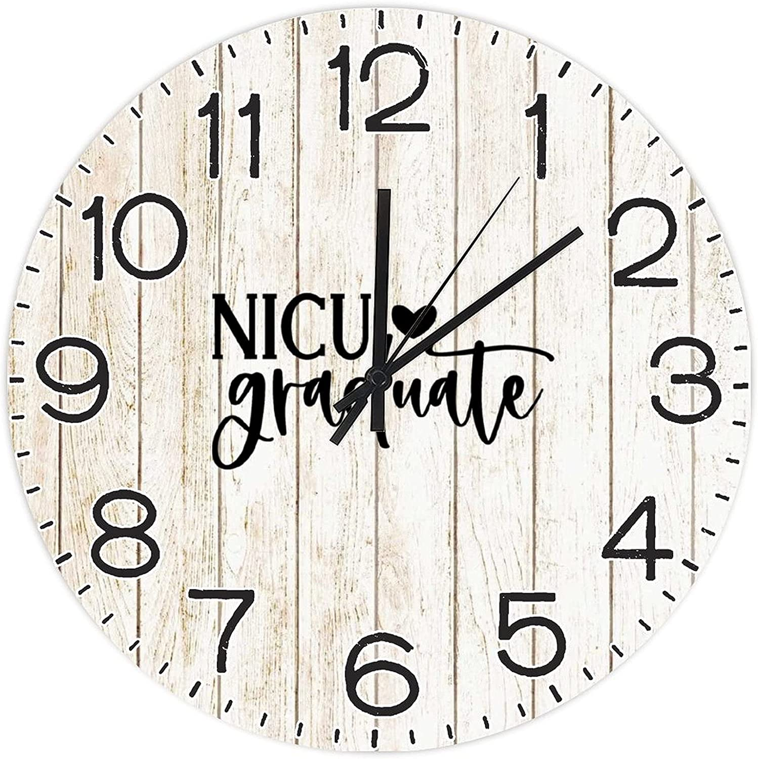 shop by Unbranded Decorative Wall Sales for sale Clock Grad Script NICU Baby