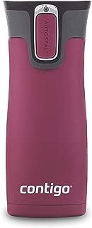 Contigo 2063325 AUTOSEAL West Loop Vacuum-Insulated Stainless Steel Travel Mug, 16 oz, Passion Fruit