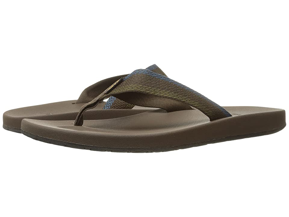 Teva Azure Flip (Feliz Brown) Men