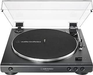 Audio-Technica AT-LP60XUSB-BK Fully Automatic Belt-Drive Stereo Turntable (Analog & USB) Black