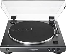 Audio-Technica AT-LP60XUSB-BK Fully Automatic Belt-Drive Stereo Turntable, Black, Hi-Fi,..