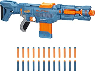 Nerf Elite 2.0 Echo CS-10 Blaster – 24 Official Nerf Darts, 10-Dart Clip, Removable Stock and Barrel Extension, 4 Tactical...