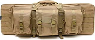 Champs Rifle Case Bag, Double Rifle, Gun Case, Water Resistant & Dust Resistant for Hunting, Range, Sports, Transport [Variation]