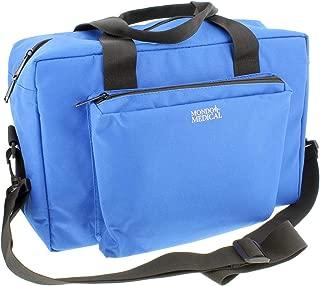 MonMed Blue Nylon Medical Equipment Nursing Clinical Bag – Nurse Organizer Bag for Doctor and Home Medical Supplies