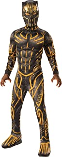 Party City Costume Erik Killmonger Black Panther Halloween Costume for Boys with Included Accessories