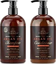 Royal Formula Argan Oil Shampoo & Hair Conditioner Set - [Sulfate Free] Treatment for Dry, Damaged, Frizzy & Color-Treated Hair, Safe for Keratin Treatments - For All Hair Types (2 X 16 FL. OZ)