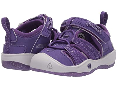 Keen Kids Moxie Sandal (Toddler) (Royal Purple/Vapor) Girls Shoes