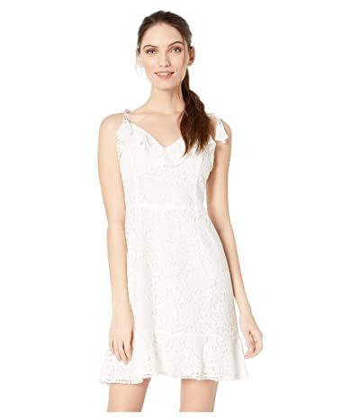 Cupcakes and Cashmere Loma Lace Fit and Flare Dress (Ivory) Women